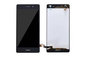 Дисплей (LCD) Huawei P8 Lite (ALE L21) с сенсором чёрный