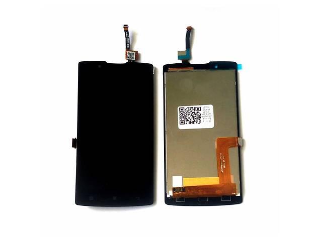 купить бу Дисплей (LCD) Lenovo A2010 с сенсором чёрный в Харькове