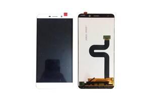Дисплей (LCD) LeTV X900 One Max с сенсором белый оригинал