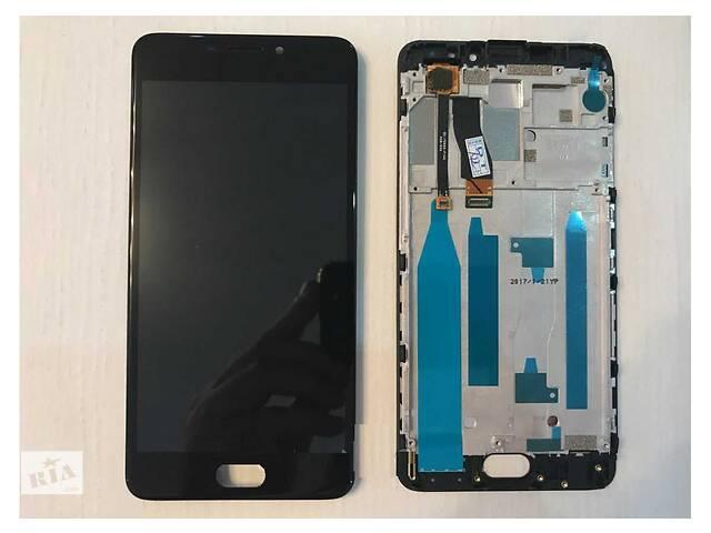 купить бу Дисплей (LCD) Meizu M5 Note (M621) с сенсором чёрный в Харькове
