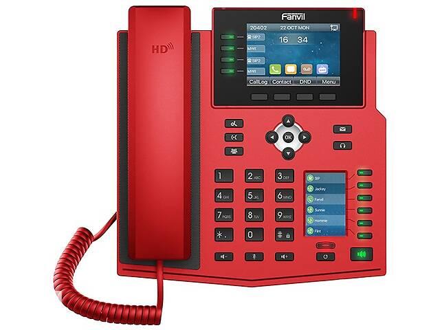 продам Fanvil X5U-R, sip телефон 16 SIP аккаунтов, USB, PoE (запись телефонных разговоров) бу в Киеве