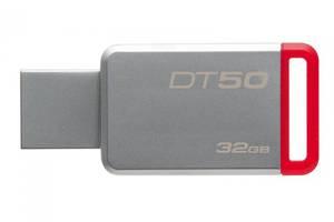Флешка USB3.0 32GB Kingston DataTraveler 50 Metal/Red (DT50/32GB)
