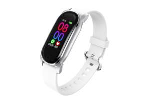 Фитнес браслет Smart Band YD8 с Термометром и Тонометром Белый