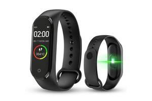 Фітнес браслет Smart Watch M5 Band Classic Black смарт годинник-трекер
