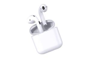 Гарнитура Bluetooth HBQ PRO4 Беспроводные наушники с кейсом-зарядкой Белые