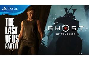 Ghost of Tsushima / The Last Of Us Part II 2 PS4 Remastered