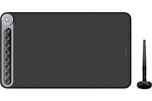 """Графический планшет Huion Inspiroy Dial Q620M беспроводной 12"""" Черный (Q620M)"""