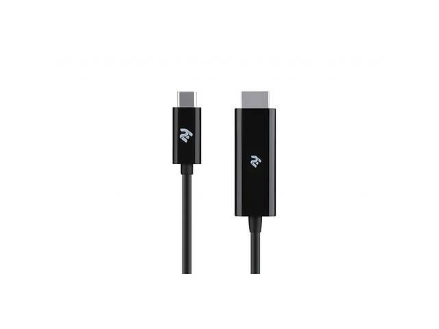 продам Кабель мультимедийный USB Type-C to HDMI 1.8m 2E (2E-W1706) бу в Киеве