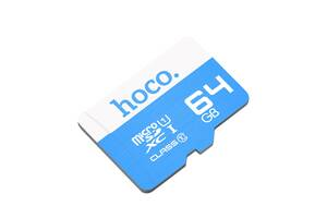 Карта памяти MicroSD Hoco 64GB Class 10 Original