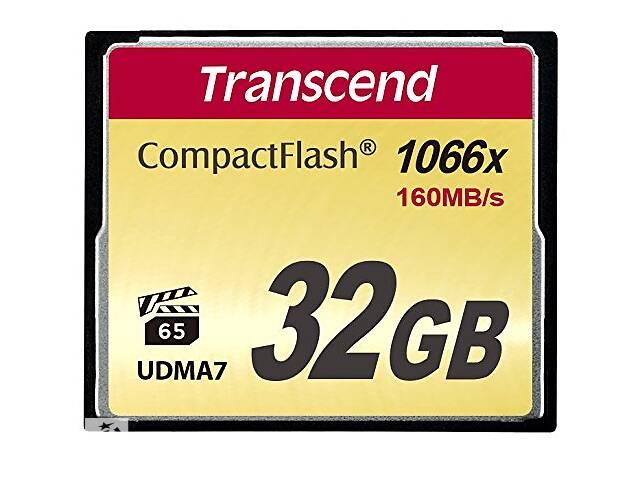 Карта памяти на 32 GB Transcend 1000x CompactFlash (Ultimate)%5b%5d TrnscndTS32GCF1000- объявление о продаже  в Киеве