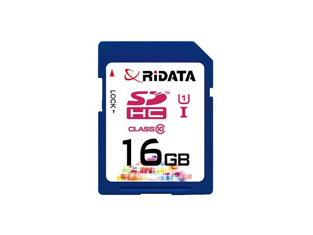 купить бу Карта памяти RiDATA SDHC 16GB Class 10 UHS-I в Харькове