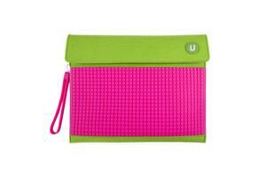 Клатч для планшета Upixel Зелено-малиновый (WY-B010K)