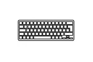 Клавиатура ноутбука TOSHIBA Tecra R850 series черная с черной рамкой UA (MP-10K96SU6356)