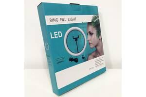 Кольцевая лампа 20 см (USB, 8Вт, 3200-5500К)