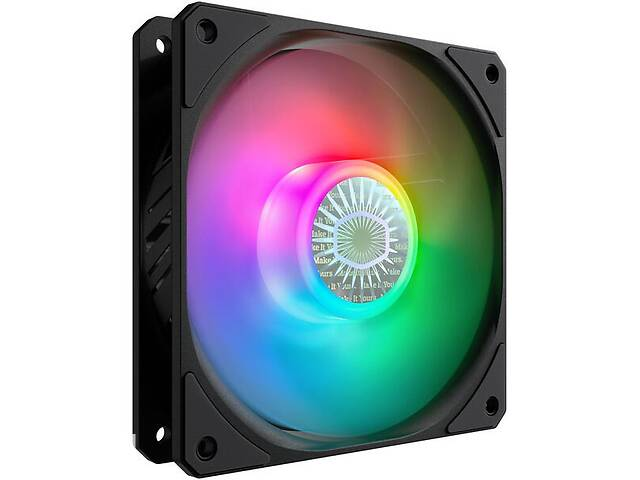 купить бу Корпусний вентилятор Cooler Master SickleFlow 120 ARGB Sync, 120мм, 650-1800об/хв, Single pack w/o HUB (MFX-B2DN-18NPA-R в Киеве