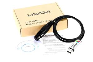 Lixada Usb Dmx 512 Freestyler контроллер Udmx512 пульт управления светом