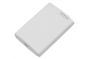 Маршрутизатор MikroTik PowerBox (RB750P-PBr2) (650MHz/64Mb, 5х100Мбит, PoE out, outdoor)