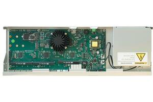 Маршрутизатор MikroTik RB1100AHx4 Dude Edition (4x1,4GHz/1Gb, ARM 32Bit, 13xGE, PoE In, 60Gb SSD)