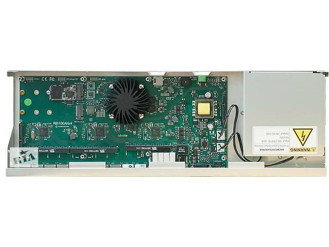 Маршрутизатор MikroTik RB1100AHx4 Dude Edition (4x1,4GHz/1Gb, ARM 32Bit, 13xGE, PoE In, 60Gb SSD)- объявление о продаже  в Харькове