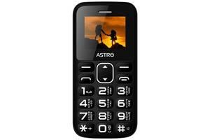 Мобильный телефон Astro A185 Black