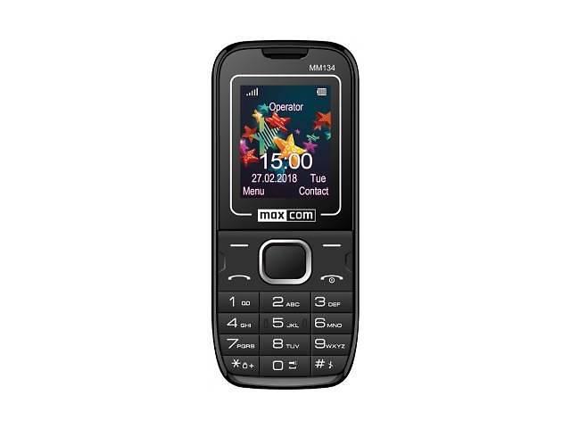 купить бу Мобильный телефон Maxcom MM134 Black в Харькове