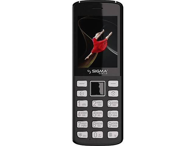 купить бу Мобильный телефон Sigma mobile X-style 24 ONYX Grey (4827798324615) в Києві