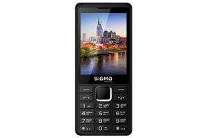 Мобильный телефон Sigma mobile X-Style 36 Point Black