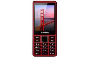 Мобильный телефон Sigma mobile X-Style 36 Point red