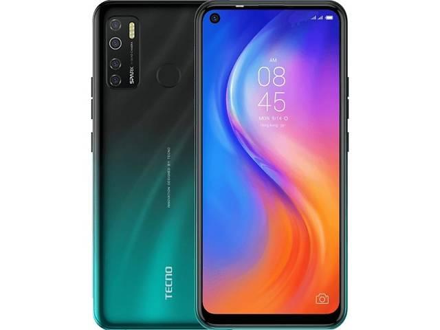 купить бу Мобильный телефон TECNO KD7 (Spark 5 Pro 4/128Gb) Ice Jadeite (4895180760297) в Киеве