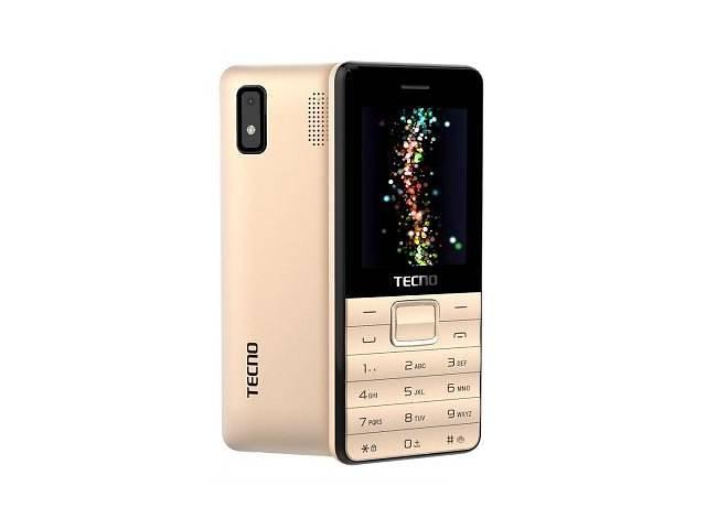 купить бу Мобильный телефон TECNO T372 TripleSIM Champagne Gold (4895180746840) в Харькове