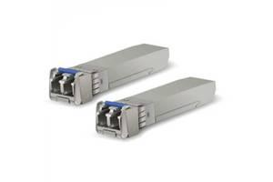 Модуль SFP+ Ubiquiti UF-SM-10G 2-pack(SM, LC, 10km, Dual-Fiber, 1310nm)