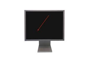 "Монитор Б/У уценка - NEC MultiSync LCD2180U / 21.3"" (1600x1200) TFT S-IPS / DVI, VGA - царапина на матрице"