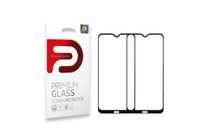 Набір захисних стекол Armorstandart Full Glue для Xiaomi Redmi 8/8A Black 2 шт. (ARM56460-GFG-BK)