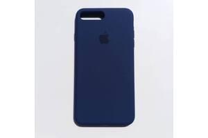 Чехол Silicone Case для Apple iPhone 7 Plus, 8 Plus Midnight Blue