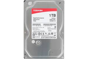 Накопитель HDD SATA 1.0TB Toshiba P300 7200rpm 64MB (HDWD110UZSVA)