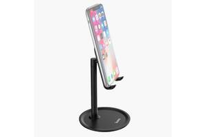 Настольная подставка Hoco PH15 Aluminium Alloy Table Stand Black