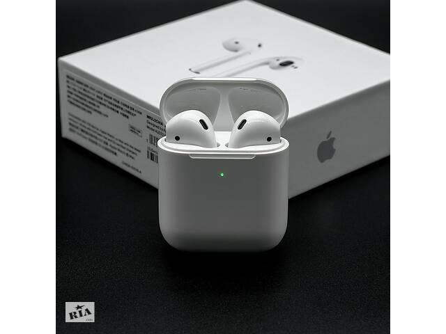 продам Наушники AirPods 2 Apple AirPods 2 с беспроводной зарядкой (копия класса люкс) бу в Харькове
