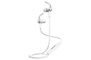 Навушники Baseus B11 Licolor Magnet Bluetooth Silver/White