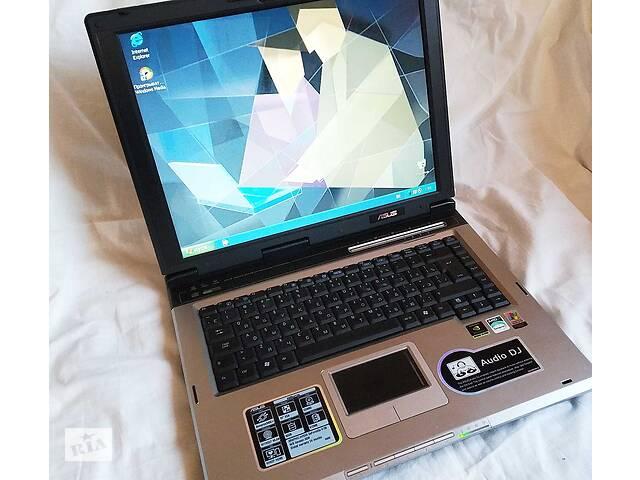 бу Ноутбук ASUS A6M - простой, но надежный и проверенный временем. Супер комплектация. Подойдет для обучения ребенка в Киеве