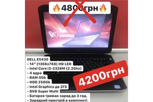 Ноутбук DELL 4ядра Intel Core i3, 4GB DDR3, 250GB, 3 години