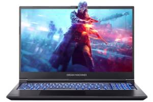 Ноутбук DREAM MACHINES G1650Ti-15 Slim (G1650Ti-15UA61)