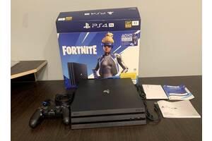 Новая Sony PlayStation 4 Pro 1Tb (Fortnite) Игровая Приставка