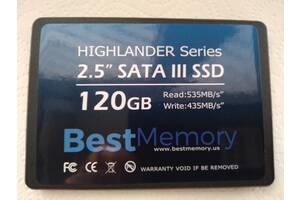 """Новый SSD 120GB для ноутбука SATA3 2.5"""""""