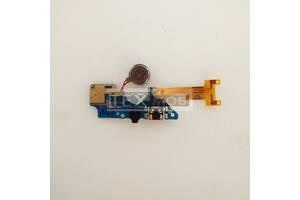 Нижняя плата TECNO B1F (POP 2F) с коннектором зарядки, микрофоном