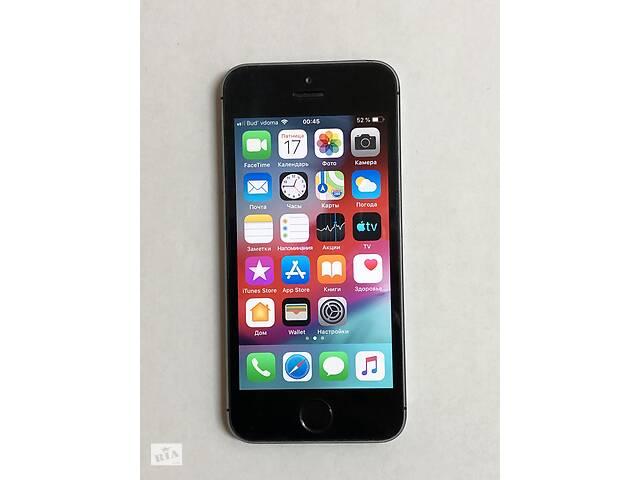 бу Оригінальний айфон 5S 16GB space grey Iphone  в Україні