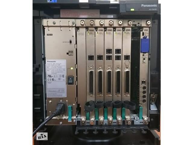 бу Panasonic KX-TDA100UA, цифровая АТС: 8 городских/8 цифровых/48 аналоговых портов в Киеве