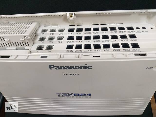 купить бу Panasonic KX-TEM824UA, аналоговая АТС, конфигурация: 8 внешних / 24 внутренних линий в Киеве