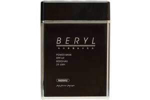 Портативная батарея Remax Power Bank Beryl RPP-69 8000 mah Black RmxF_66819