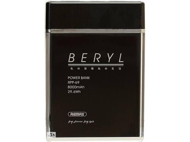 Портативная батарея Remax Power Bank Beryl RPP-69 8000 mah Black RmxF_66819- объявление о продаже  в Киеве