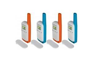 Портативная рация Motorola TALKABOUT T42 Quad Pack (B4P00811MDKMAQ)